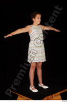 Ruby ballerina flats dress dressed standing t poses whole body 0008.jpg