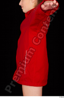 Ruby dressed red sports jacket upper body 0003.jpg