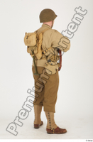 U.S.Army uniform World War II. ver.2 army poses with gun soldier standing whole body 0022.jpg