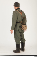German army uniform World War II. ver.5 army poses with gun soldier whole body 0004.jpg