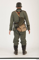 German army uniform World War II. ver.5 army poses with gun soldier whole body 0005.jpg
