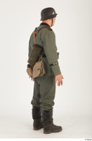 German army uniform World War II. ver.5 army poses with gun soldier whole body 0006.jpg
