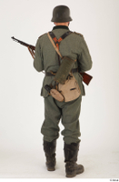 German army uniform World War II. ver.5 army poses with gun soldier whole body 0013.jpg