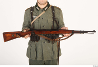 German army uniform World War II. ver.5 army gun poses with gun 0001.jpg