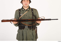 German army uniform World War II. ver.5 army gun poses with gun 0010.jpg