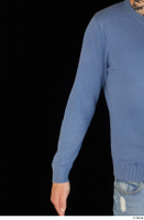 Hamza arm blue sweatshirt dressed upper body 0001.jpg