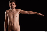 Hamza  1 arm flexing front view nude 0003.jpg