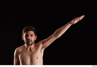 Hamza  1 arm flexing front view nude 0004.jpg