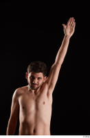 Hamza  1 arm flexing front view nude 0005.jpg