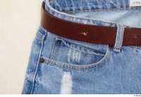 Clothes  231 belt blue jeans trousers 0002.jpg