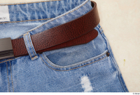 Clothes  231 belt blue jeans trousers 0003.jpg