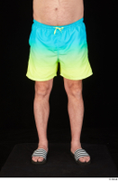 Spencer blue yellow shorts dressed leg lower body slides 0001.jpg