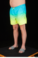 Spencer blue yellow shorts dressed leg lower body slides 0002.jpg