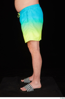 Spencer blue yellow shorts dressed leg lower body slides 0003.jpg