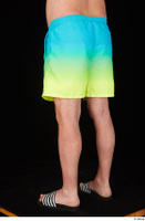 Spencer blue yellow shorts dressed leg lower body slides 0004.jpg