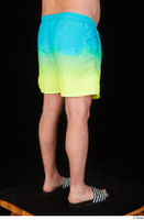 Spencer blue yellow shorts dressed leg lower body slides 0006.jpg