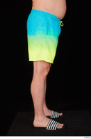 Spencer blue yellow shorts dressed leg lower body slides 0007.jpg