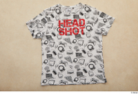 Clothes  234 casual clothing white printed t shirt 0001.jpg