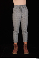 Zahara brown workers casual dressed grey trousers leg lower body 0001.jpg
