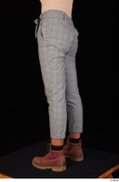 Zahara brown workers casual dressed grey trousers leg lower body 0004.jpg