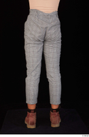 Zahara brown workers casual dressed grey trousers leg lower body 0005.jpg