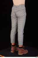Zahara brown workers casual dressed grey trousers leg lower body 0006.jpg