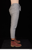 Zahara brown workers casual dressed grey trousers leg lower body 0007.jpg