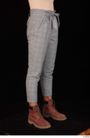 Zahara brown workers casual dressed grey trousers leg lower body 0008.jpg
