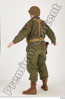 U.S.Army uniform World War II. - Technical Corporal army soldier standing uniform whole body 0004.jpg