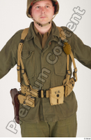U.S.Army uniform World War II. - Technical Corporal army soldier uniform upper body 0001.jpg