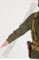 U.S.Army uniform World War II. - Technical Corporal arm army soldier uniform upper body 0001.jpg