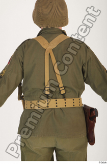U.S.Army uniform World War II. - Technical Corporal army soldier uniform upper body 0005.jpg