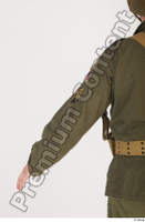 U.S.Army uniform World War II. - Technical Corporal arm army soldier uniform upper body 0004.jpg