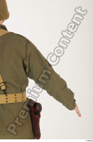 U.S.Army uniform World War II. - Technical Corporal arm army soldier uniform upper body 0005.jpg