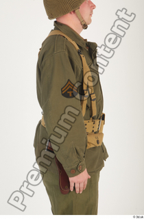 U.S.Army uniform World War II. - Technical Corporal arm army soldier uniform upper body 0006.jpg