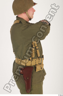 U.S.Army uniform World War II. - Technical Corporal army soldier uniform upper body 0007.jpg