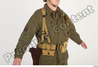 U.S.Army uniform World War II. - Technical Corporal army soldier uniform upper body 0008.jpg