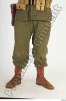 U.S.Army uniform World War II. - Technical Corporal army leg lower body soldier uniform 0001.jpg