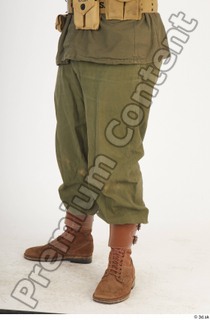 U.S.Army uniform World War II. - Technical Corporal army leg lower body soldier uniform 0002.jpg