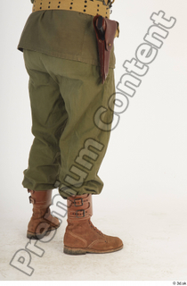 U.S.Army uniform World War II. - Technical Corporal army leg lower body soldier uniform 0006.jpg