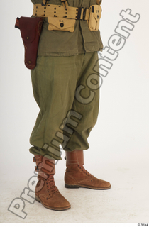 U.S.Army uniform World War II. - Technical Corporal army leg lower body soldier uniform 0008.jpg