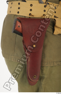 U.S.Army uniform World War II. - Technical Corporal army gun lower body soldier uniform 0001.jpg