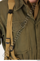 U.S.Army uniform World War II. - Technical Corporal army soldier uniform upper body 0013.jpg