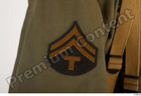 U.S.Army uniform World War II. - Technical Corporal army soldier uniform upper body 0015.jpg