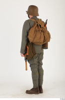 Austria-Hungary army uniform World War I. ver.1 - poses army poses with gun soldier standing uniform whole body 0004.jpg
