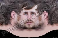 Man head premade texture 0003