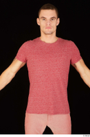 Max Dior casual dressed red t shirt upper body 0001.jpg
