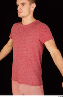 Max Dior casual dressed red t shirt upper body 0002.jpg