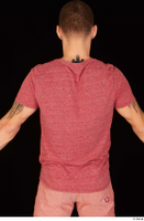 Max Dior casual dressed red t shirt upper body 0005.jpg