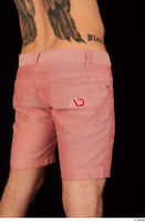 Max Dior casual dressed hips red shorts 0006.jpg